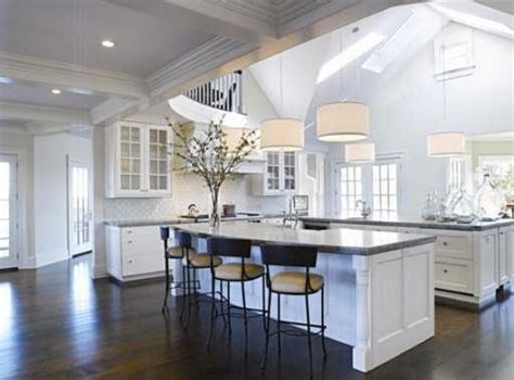 white kitchens with islands 5 tips for your kitchen redesign creating celebrity style