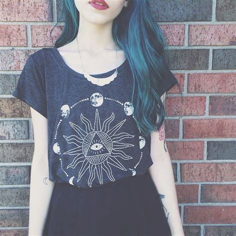 eye pattern shirt t shirt moon black shirt black eye pattern style