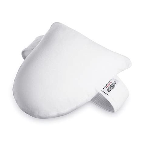 knee pillow bed bath and beyond sleepy kneez side sleeper knee pillow in white bed bath beyond