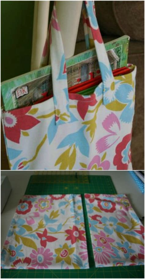 homemade tote bag pattern 60 gorgeous diy tote bags with free patterns for every