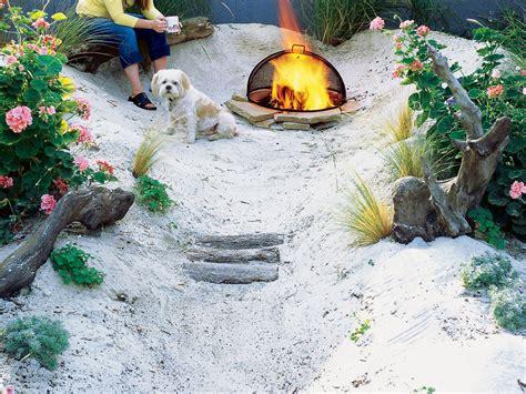 backyard beach design how to make a beach sunset