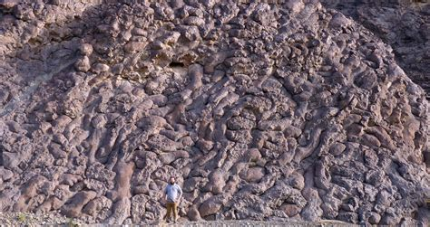 Pillow Basalts by Dispatches From Oman Wadi Jizzi Standing At The Bottom
