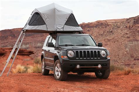 jeep compass tent first impressions james baroud horizon vision roof top