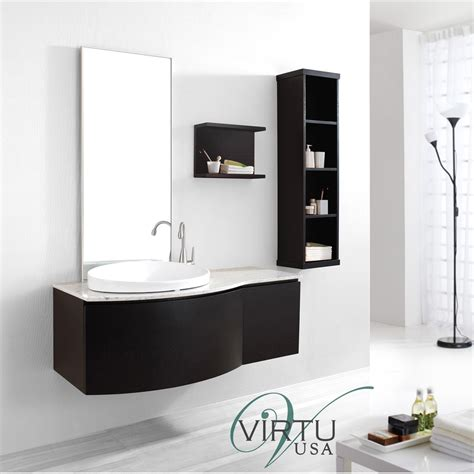 virtu bathroom accessories virtu usa 48 quot isabelle single sink bathroom vanity set