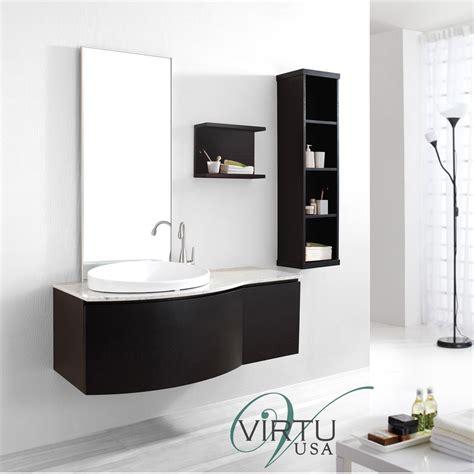 virtu bathroom accessories virtu usa 48 quot isabelle single sink bathroom vanity set