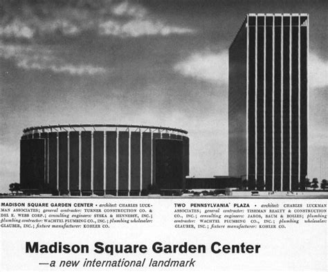 Square Garden History by Square Garden World S Most Arena S The