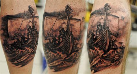 viking longboat tattoo vikings by tatyz on deviantart