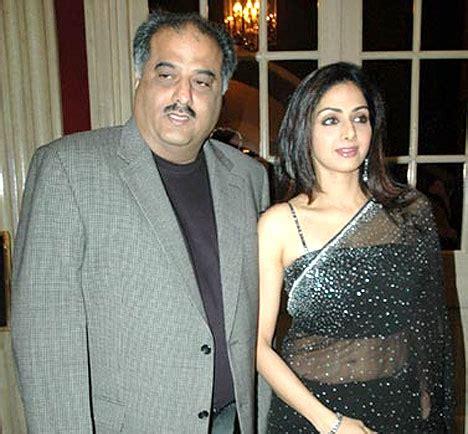 sridevi with her husband sridevi with her husband boney kapoor