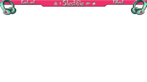layout twitch free twitch layout headphones pink by stestifie on