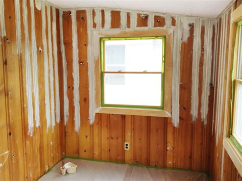 how to paint wood paneling painting wood paneling brushes rollers and beer rather