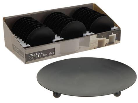 kerzenteller metall schwarz kerzenteller metall 216 8 5cm schwarz der klassiker