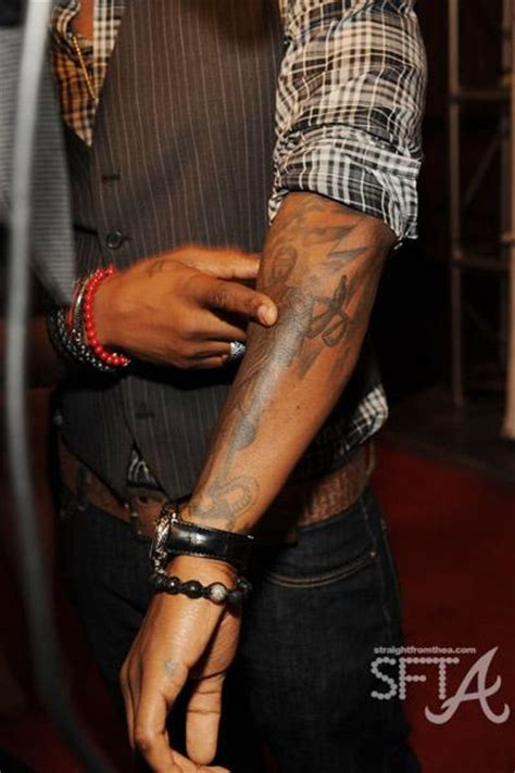 usher s new tatt a message to his future ex wife