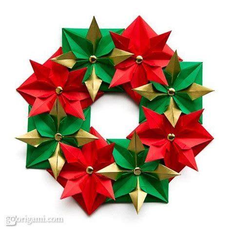 Origami Wreath Ornament - 31 coronas de navidad con instrucciones para hacerlas