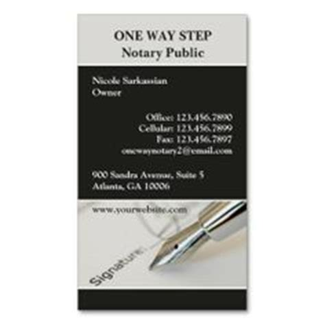 free notary business card templates notary business card notary business cards