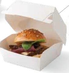Boite Plastique 1105 by Mini Boites 224 Burger X 5 Cook Shop