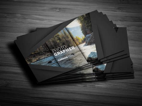 photography business cards templates for photoshop creative business card template free design resources