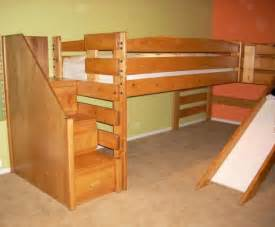 Wood Bunk Bed With Slide 12 Best Images About Beds With Slides On Loft Beds And Bookcases