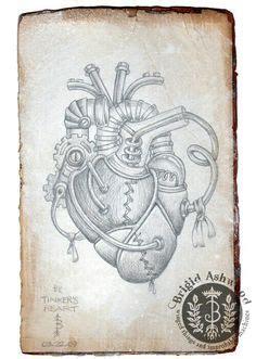 imagenes de corazones mecanicos corazon humano dibujo a lapiz cerca con google arte