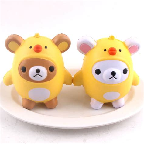 Squishy Chicken pu kawaii squishy chicken squishies adorable