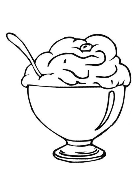 ice cream party coloring pages free ice cream party coloring pages