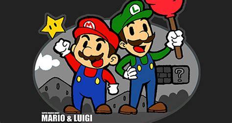 gambar tato kartun super mario cara desain 45 contoh gambar ilustrasi mario bros yang