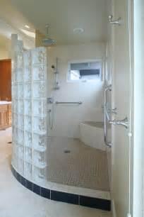 Bathroom With Wallpaper Ideas simple bathroom walk in shower on walk in shower design