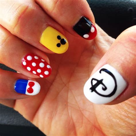 disney pattern nails disney gel nails not disney look approved pinterest