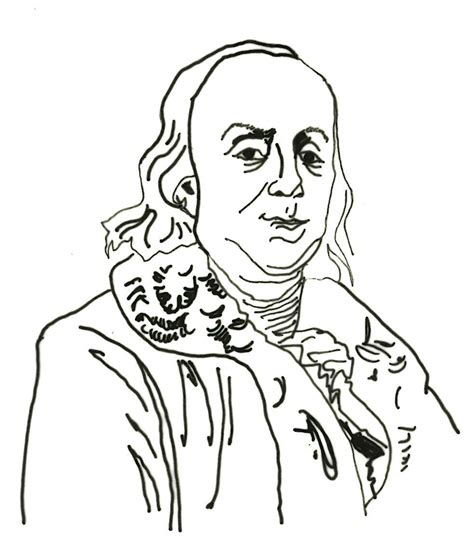 free coloring pages of ben franklin printable