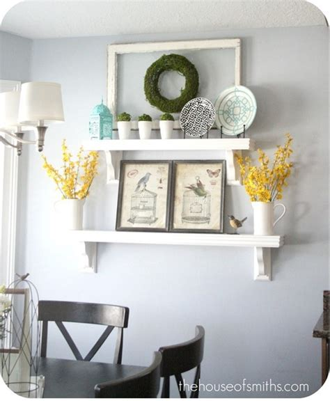 inspire hanging art without a frame dwell with dignity 1000 ideas about wall shelf decor on pinterest hallway