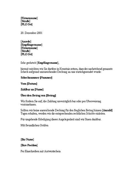 Schreiben Zahlungsaufforderung Muster Briefe Office