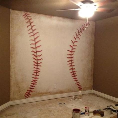 Baseball Bedroom Decorations 48 Best Images About Kid S Rooms On Rooms Baseball Bats And Wall Mural