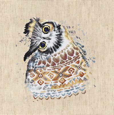 Owl Ls by Borduurpakket The Owl Luca S Gt Borduurpakketten Gt Luca S Gt Borduurpakketten Gt The Stitch Company