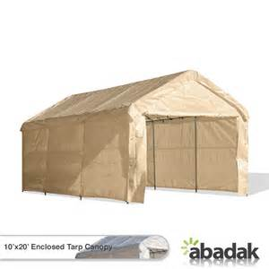 10x20 Canopy With Sidewalls by 10 X 20 Tarp Tent Canopy Enclosed