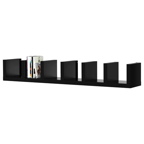 lack ikea lack wall shelf unit black 30x190 cm ikea
