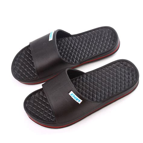 bathroom slippers new home bathroom causal flat anti skidding