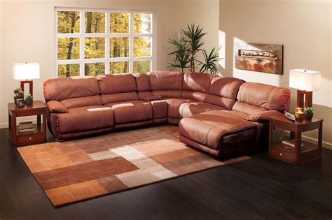cloud 2 sectional the cloud ii 6 pc sectional living room by sofa mart