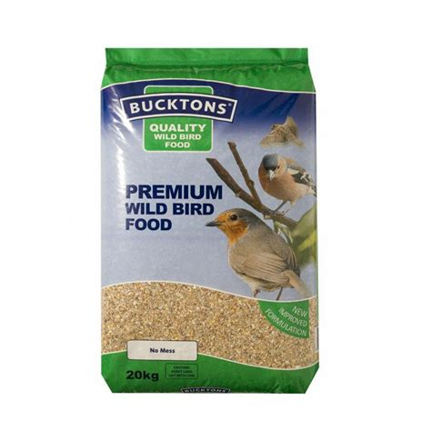 bucktons premium wild bird seed 20kg feedem