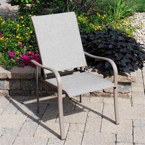 backyard creations grant park recliner chair at menards 174