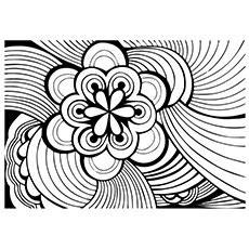Abstract Coloring Pages Momjunction | free abstract coloring pages clipart best