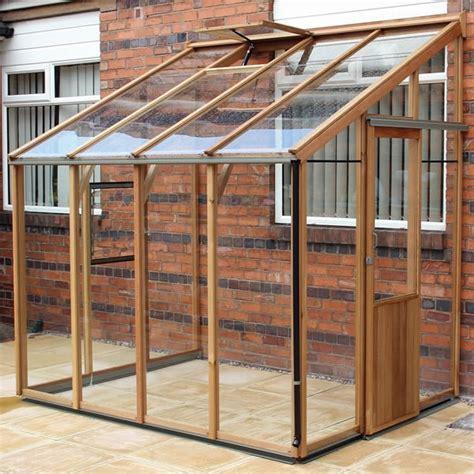 Shed Greenhouse Plans Alton Evolution Six Lt Lean To Cedar Greenhouse