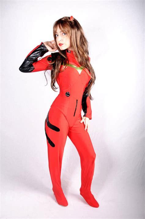 Asuka Langley Plug Suit Cosplay | asuka langley soryu plugsuit cosplay by chiquitita cosplay