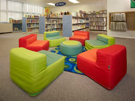 comfy library chairs making over an existing space barclay elementary school