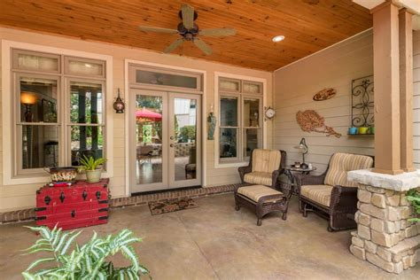 brick floor in kitchen cottage style homes best craftsman 101 front porch ideas for 2018 pictures