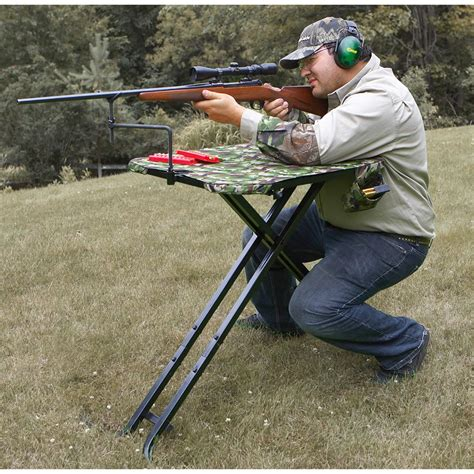 shooters bench guide gear 174 shooting bench 164926 shooting rests at