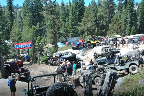 jeep trails in pa 60th annual rubicon trail jeepers jamboree pictures
