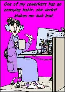 Maxine Cartoons About Co-Workers