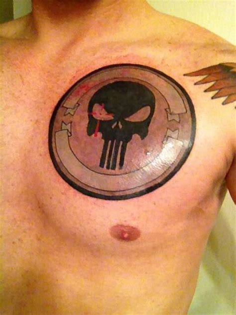 andy s tattoo in honor of chris kyle navy seal sniper
