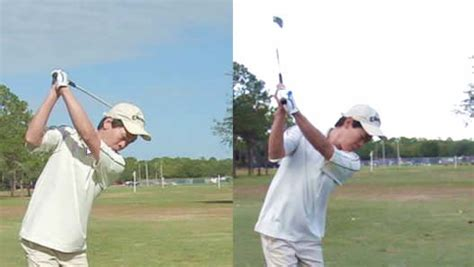golf rotary swing golf backswing how the arms work in the backswing