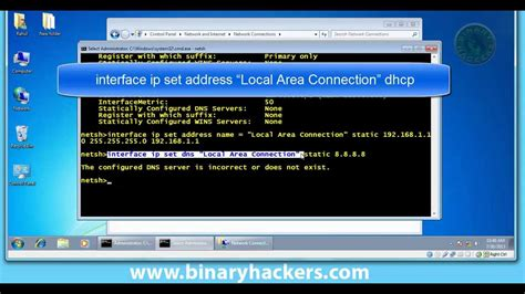 Ip Address Lookup Cmd How To Change Ip Address Using Cmd Command Prompt