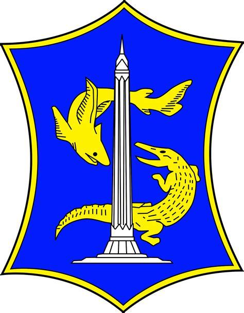 Lambang Surabaya arti logo surabaya info surabaya